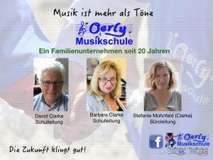 Oerly Musikschule Familienunternehmen