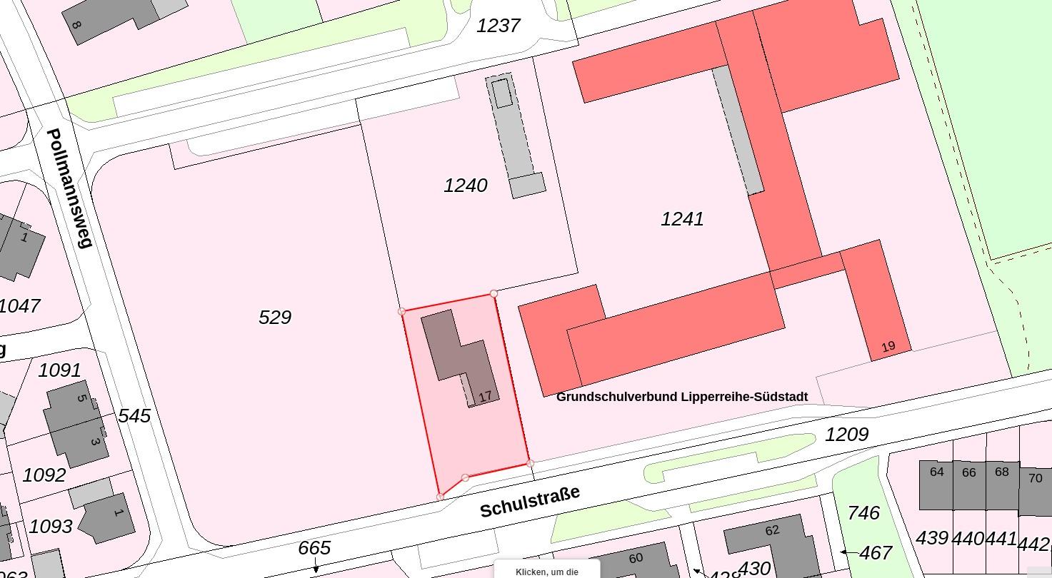 geplanter Erwerb städtischer Fläche (neu)
